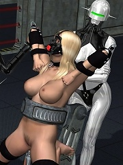 Anime Sorceress gets boned by horny Hentai Alien