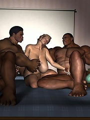 3D Belle penetrated to the max by sexy 3D Demon